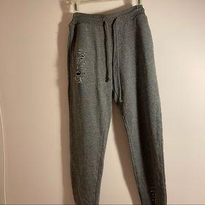 3/$10✨ dark grey jogger shorts